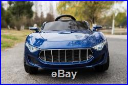 RiiRoo Maserati Style Kids 12v Battery Electric Ride on Jeep Car With Remote MP3
