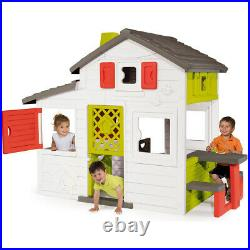 Smoby Children Kids Large Outdoor Garden Play House Picnic Table Play Set
