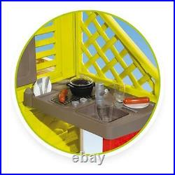 Smoby Nature Playhouse with Kitchen Kids Outdoor Playhouse Toy From 2+ Years