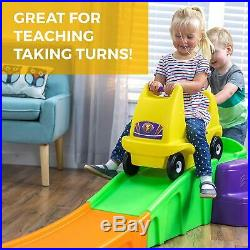 Step2 Up Down Roller Coaster Ride On, Kids Toddler Outdoor Indoor Toy