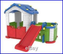 Sunshine Kids Modular Playhouse With Slide & Childrens Play Pen Fast Delivery