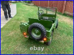 Toylander MB43 Willies Jeep. Kids ride on electric vehicle suits ages 4 10yr