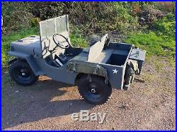 Toylander Willis Jeep. Minature Toy Electric Ride On Kids. Not Land Rover willys