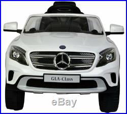 Toyrific Kids Mercedes Benz GLA 12v Electric Ride On Car Toy White Ages 3+