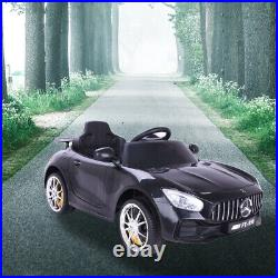 UK 12V Electric Battery Kids Ride on Car Benz Style Remote Control Outdoor Toys