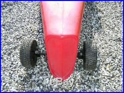 Unfinished pedal car project battery car hot rod tots kids buggy
