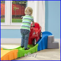 Up And Down Roller Coaster Kids Ride On Ramp Cart Non Slip 3 Meter Track NEW