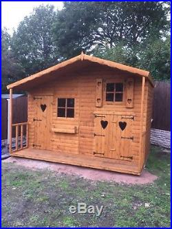 WOODEN PLAYHOUSE. KIDS PLAYHOUSES. WENDY HOUSES. 6FTX4FT. We make all sizes
