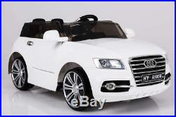 White Q7 SUV 12V Kids' Electric Toy Ride On Car