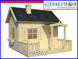 Wooden play house OTTO garden wendy house kids outdoor cottage kids ItalfromB3
