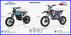 XTREME MX-PRO 1100W New Electric Dirt Bike Childs / Kids Motorbike 2019 Model