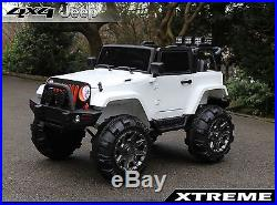 Xtreme 12V Ride on Jeep BIG Childs / Kids SUV 4x4 Off-Road Battery Powered Car