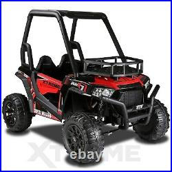 Xtreme BIG 24v Ride On Kids/ Childrens Electric Off Road Buggy UTV Jeep Car Red