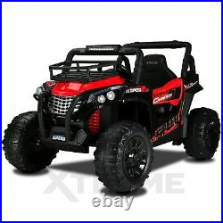 Xtreme Big 12V Ride On Car Kids Childs Electric Off Road Buggy UTV Jeep In Red